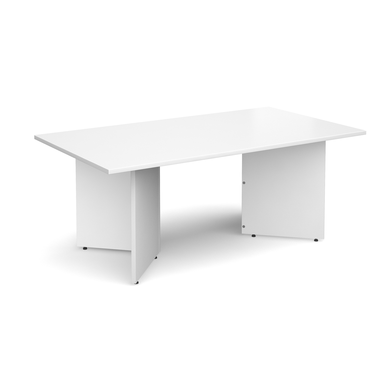 Dams Arrow Head Boardroom Table - Rectangle