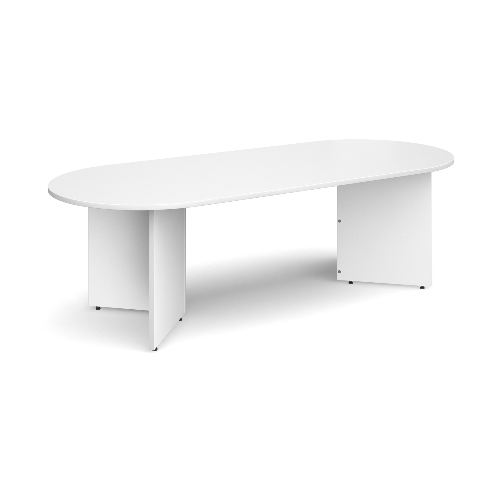 Dams Arrow Head Boardroom Table - Radial End