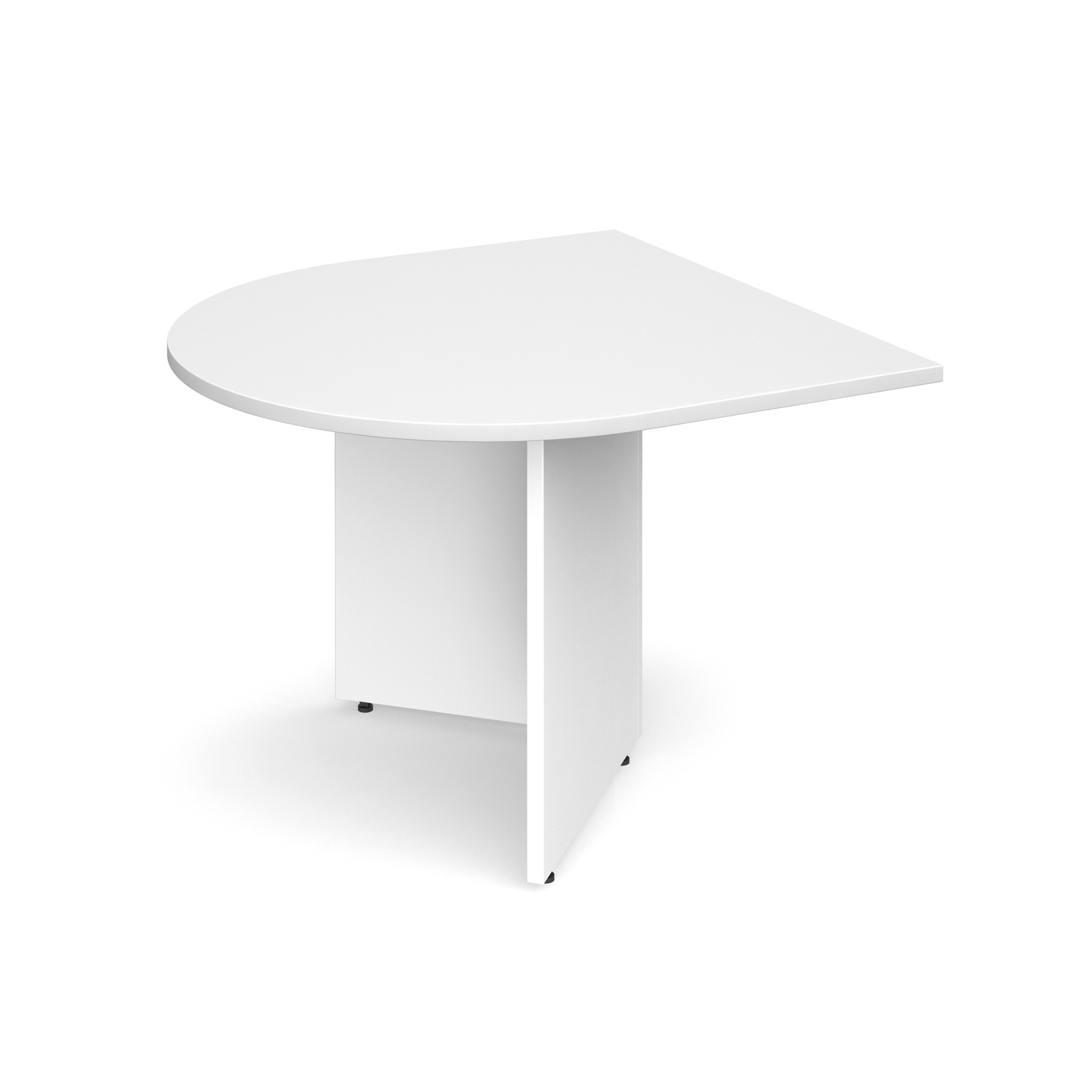 Active Arrow Head Meeting Table | Sectional End