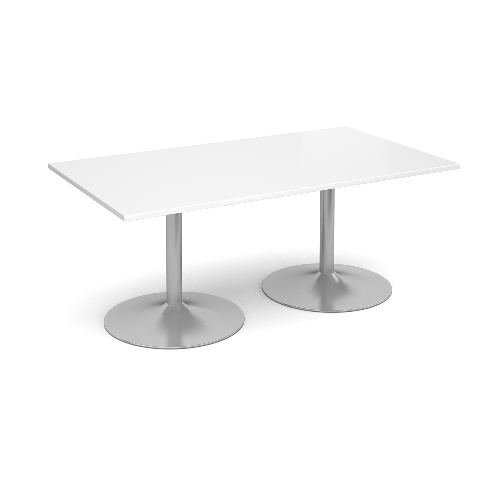 Dams Trumpet Base Boardroom Table - Rectangle