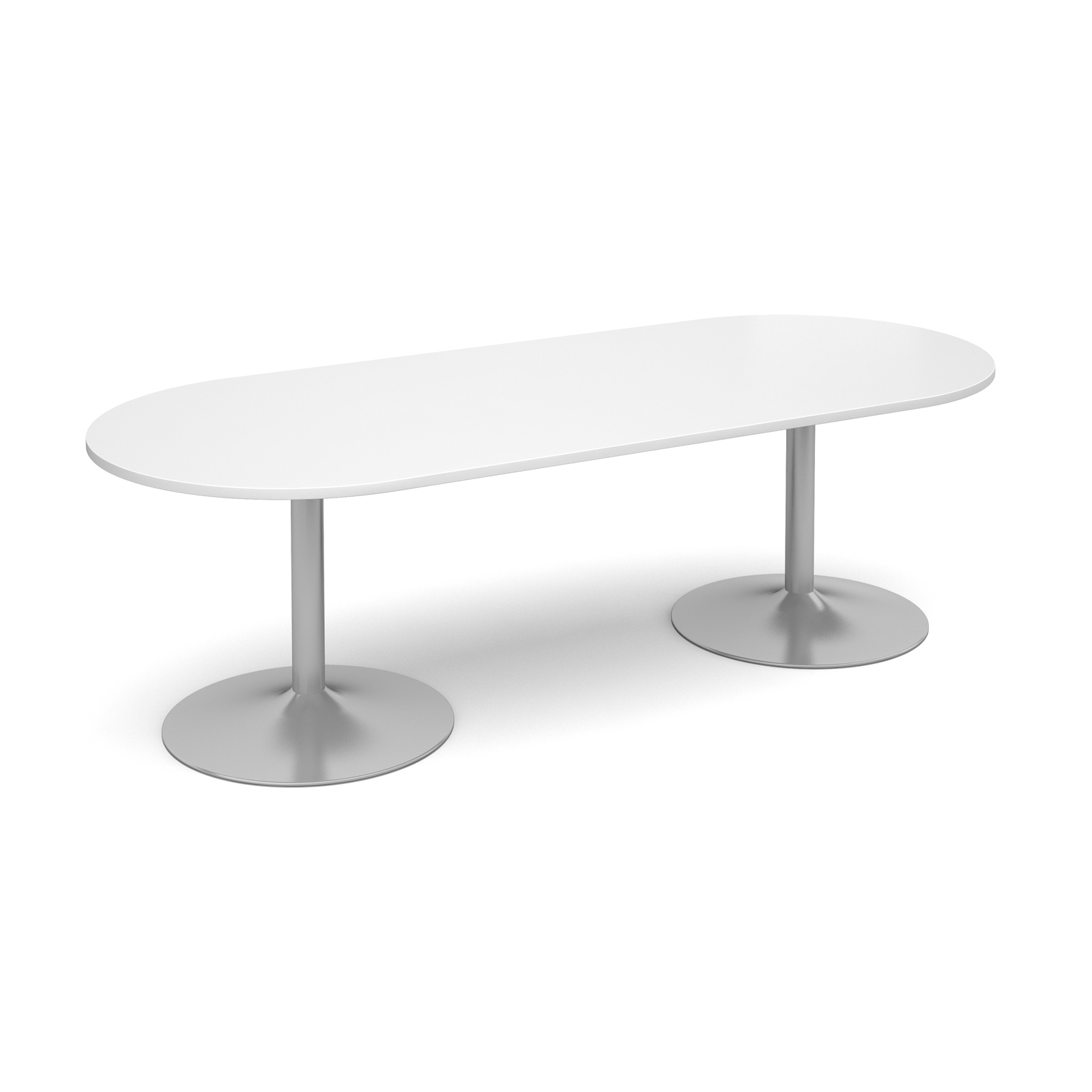 Dams Trumpet Base Boardroom Table - Radial