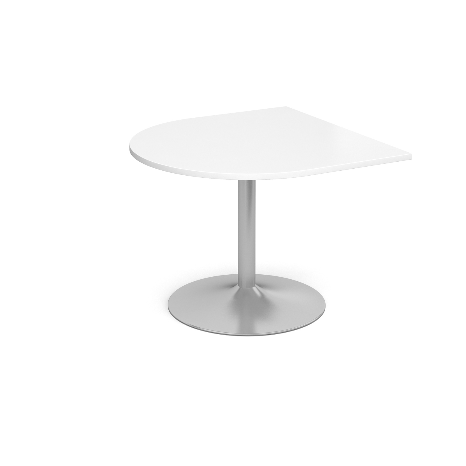 Dams Trumpet Base Boardroom Table - Extension Tabl