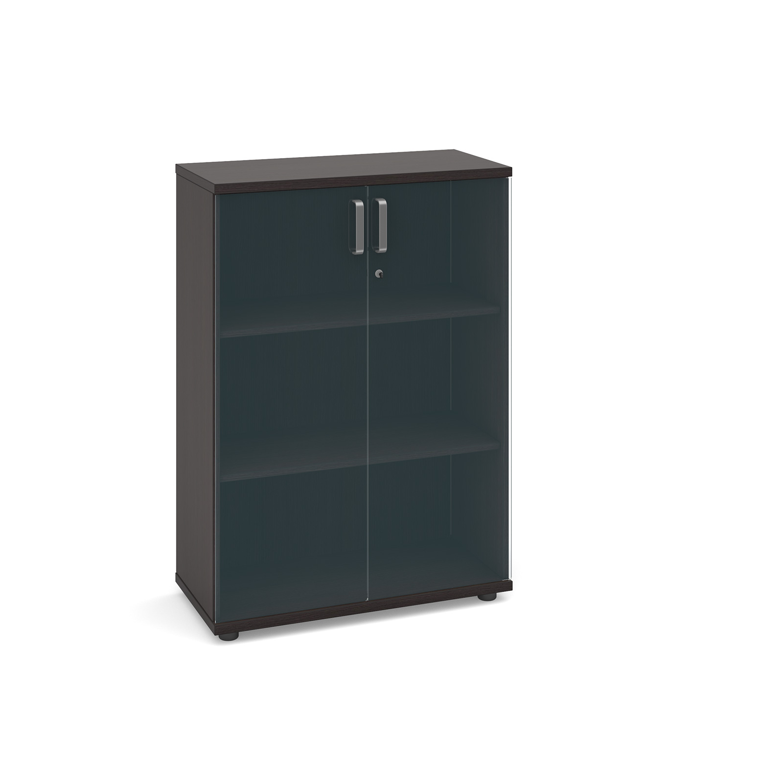 Dams Magnum Executive Low Cupboard with Glass Door