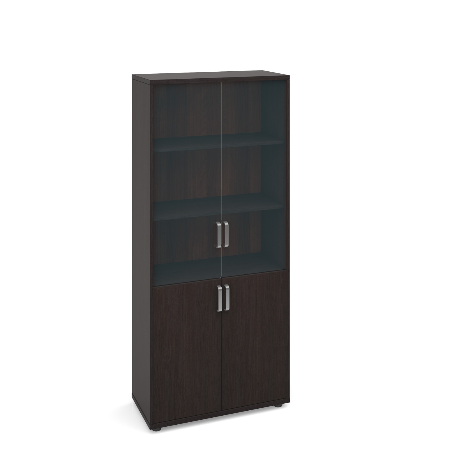 Dams Magnum Executive Tall Cupboard with Glass Doo