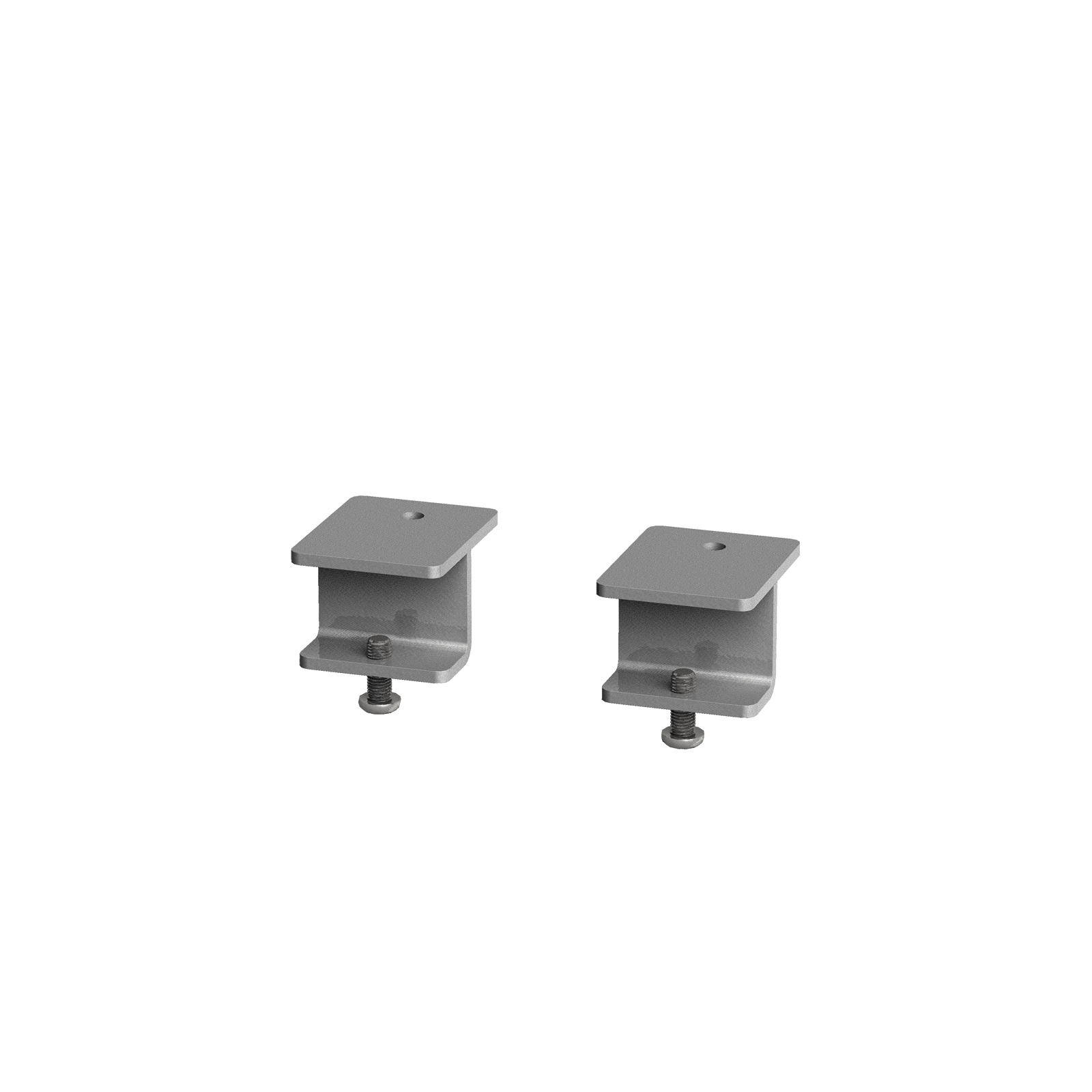 Dams Adv Screen Brackets Glazed - Adapt Single Bench