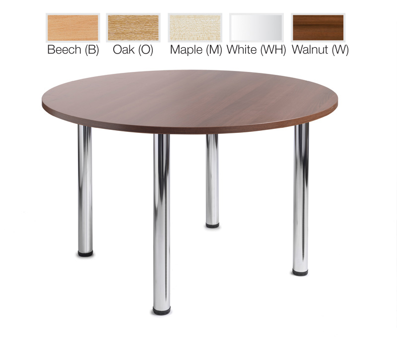 Dams Turin Round Leisure Table