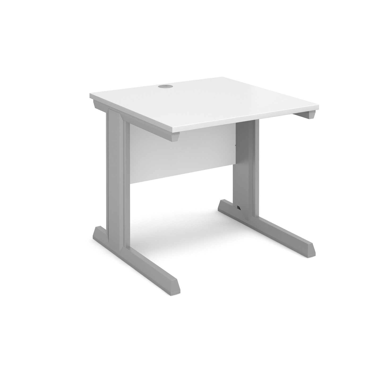 Dams Vivo II Straight Desk 800mm White