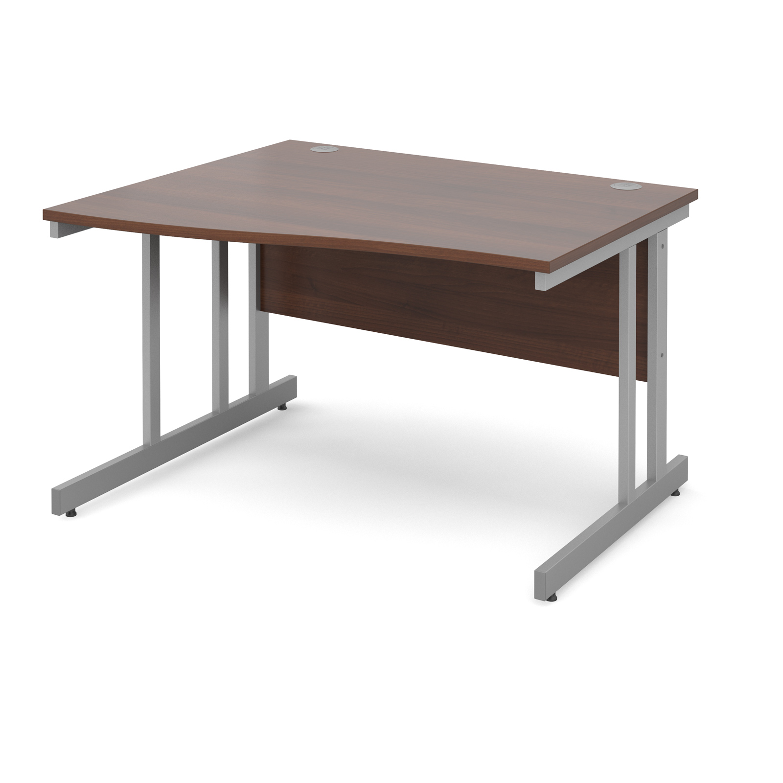 Dams Contract II Walnut Desk | Wave (Momento)