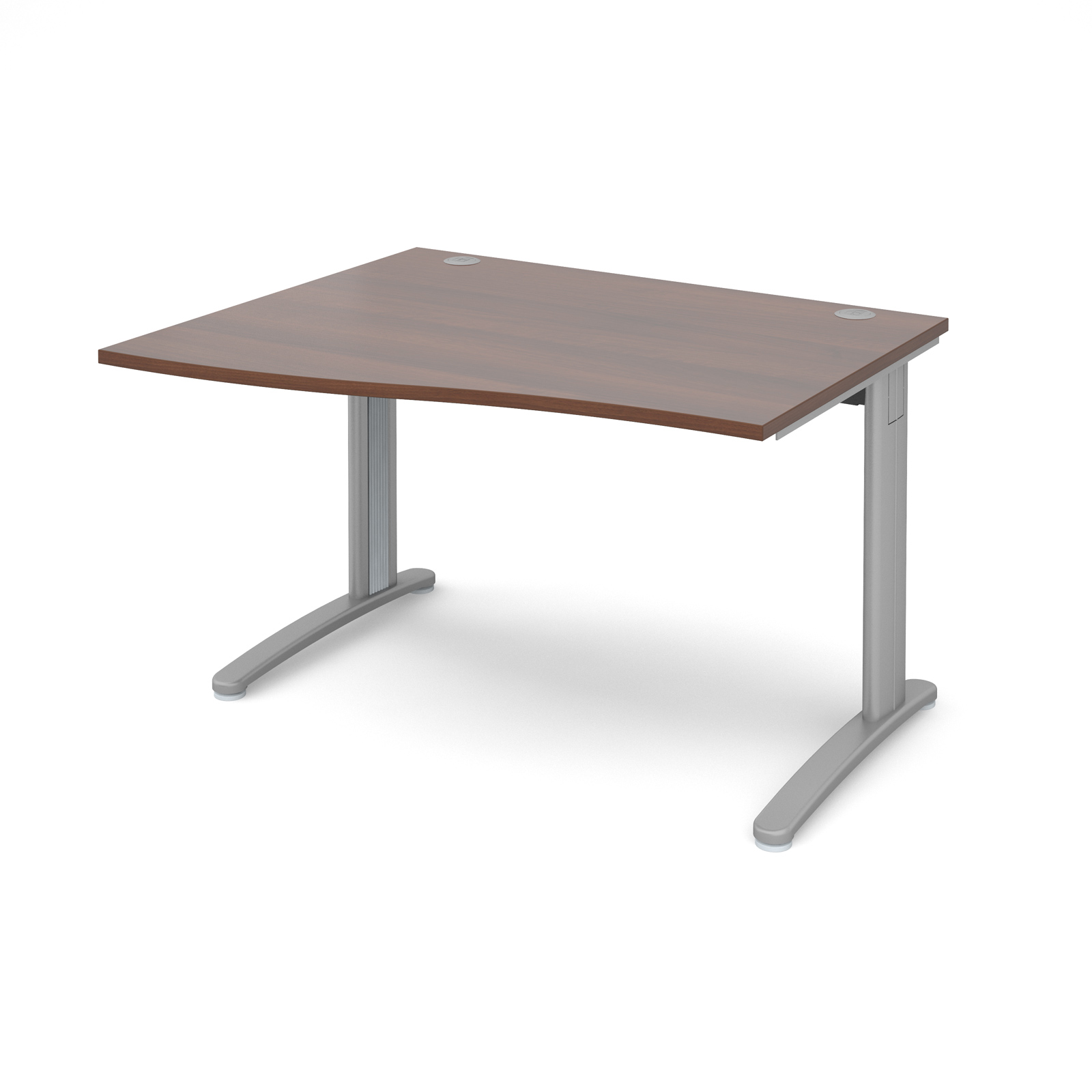 Dams TR10 Walnut Desk | Wave