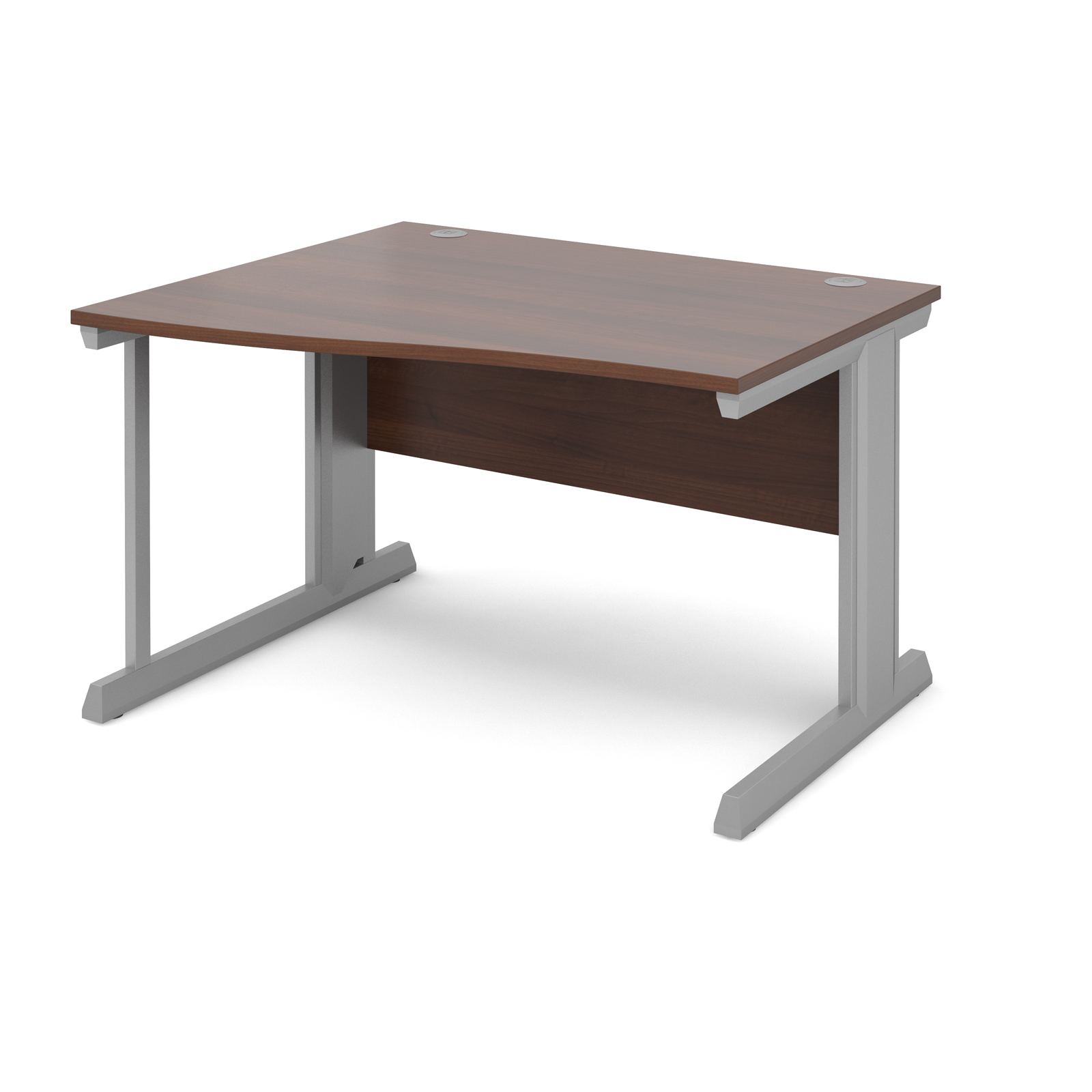 Dams Vivo II Walnut Desk | Wave
