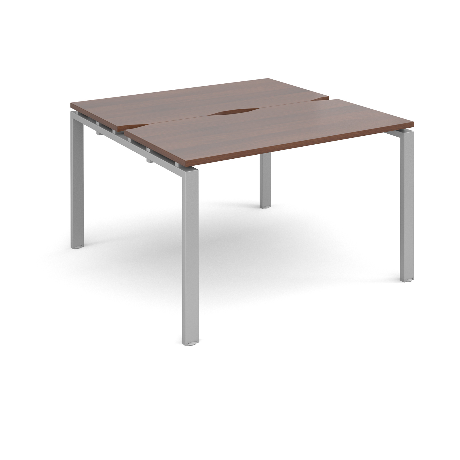 Dams Adapt II Walnut Bench Desk