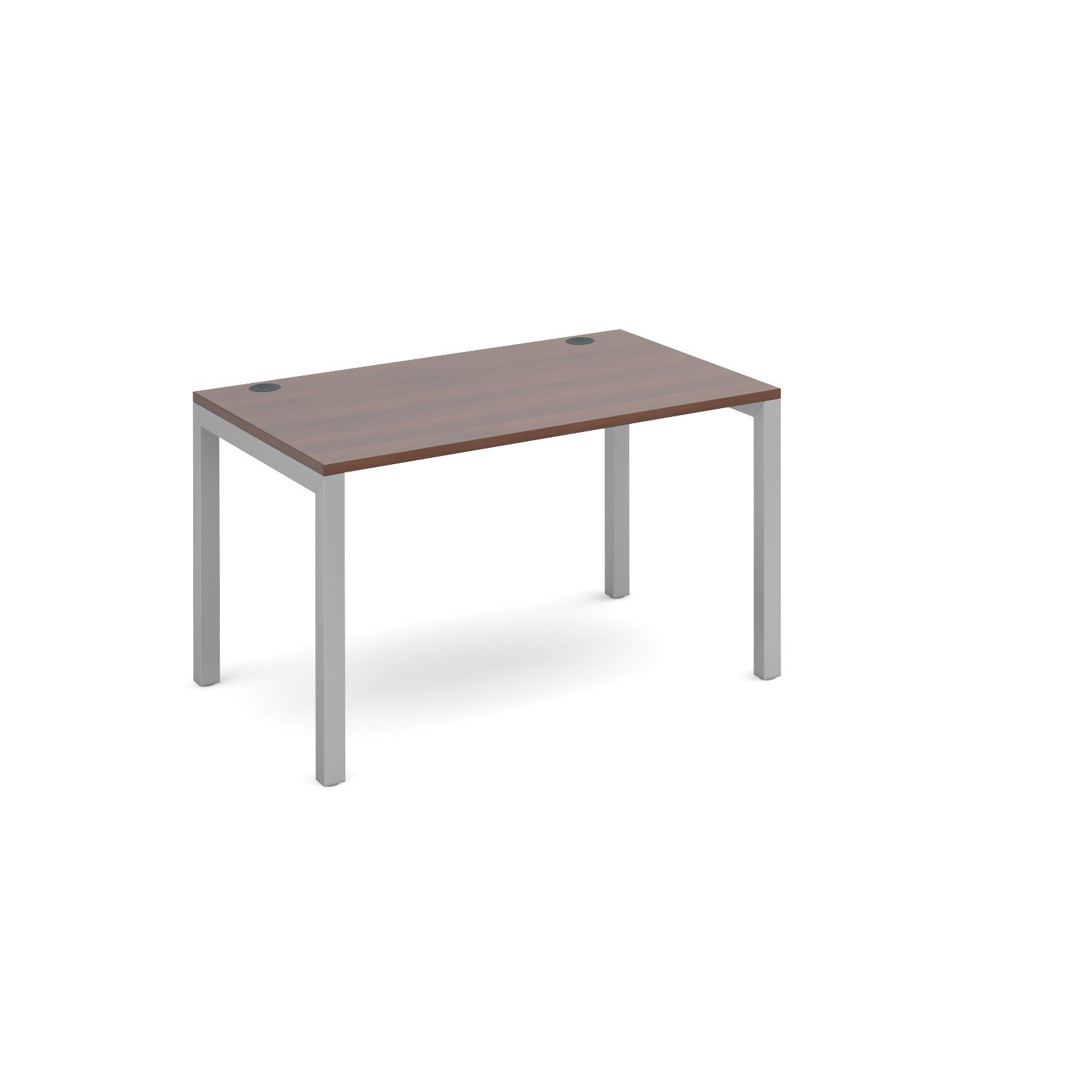 Dams Connex Walnut Single Bench Desk