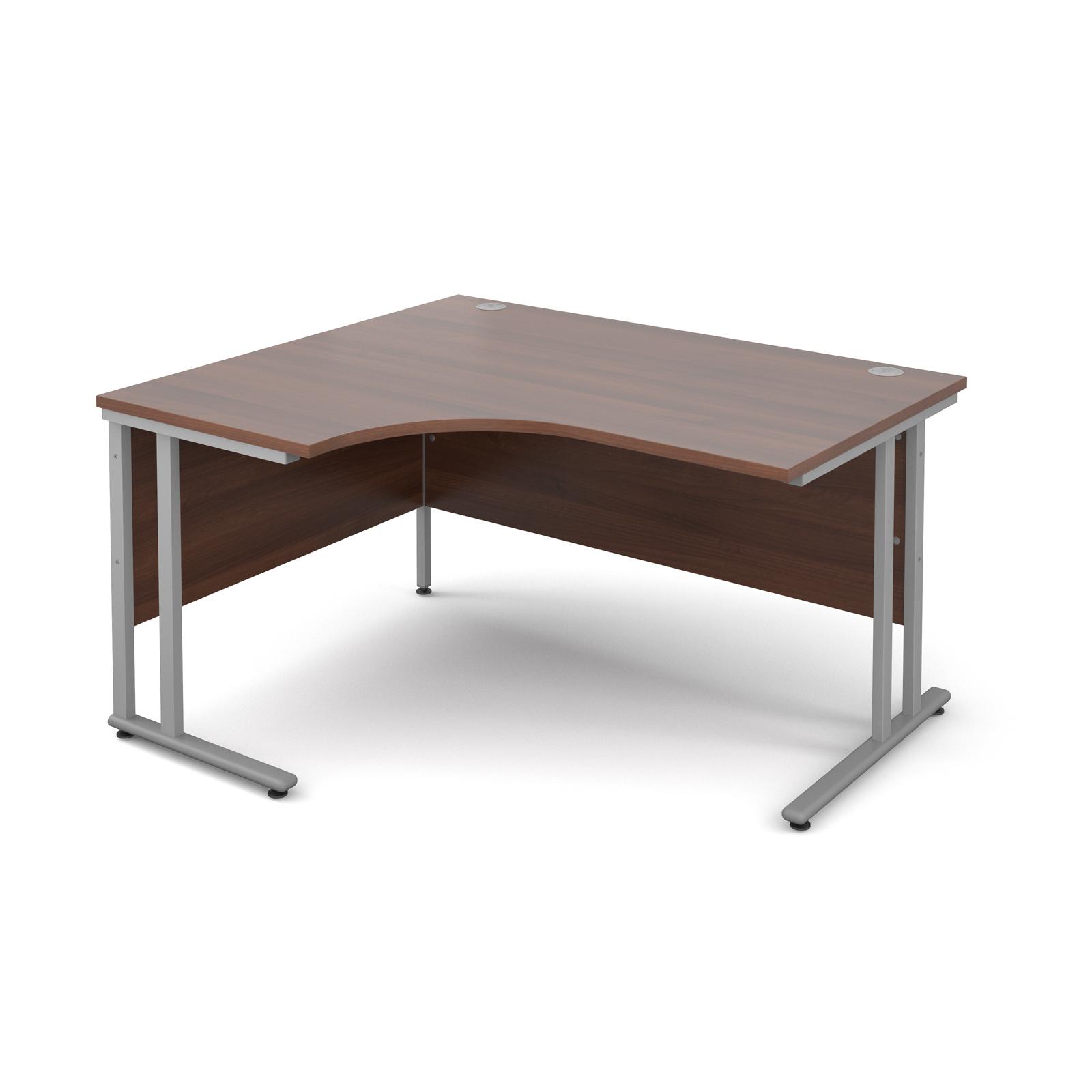 Dams Maestro 25 SL Walnut Desk | Corner