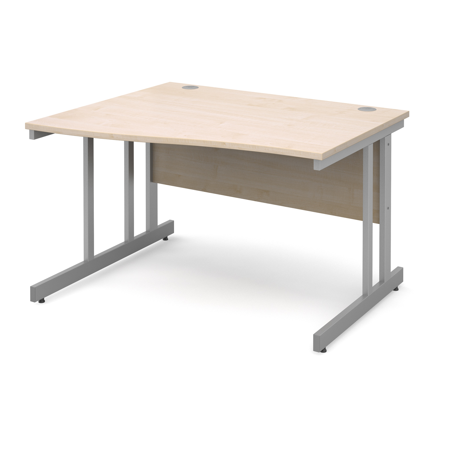 Dams Contract II Maple Desk | Wave (Momento)