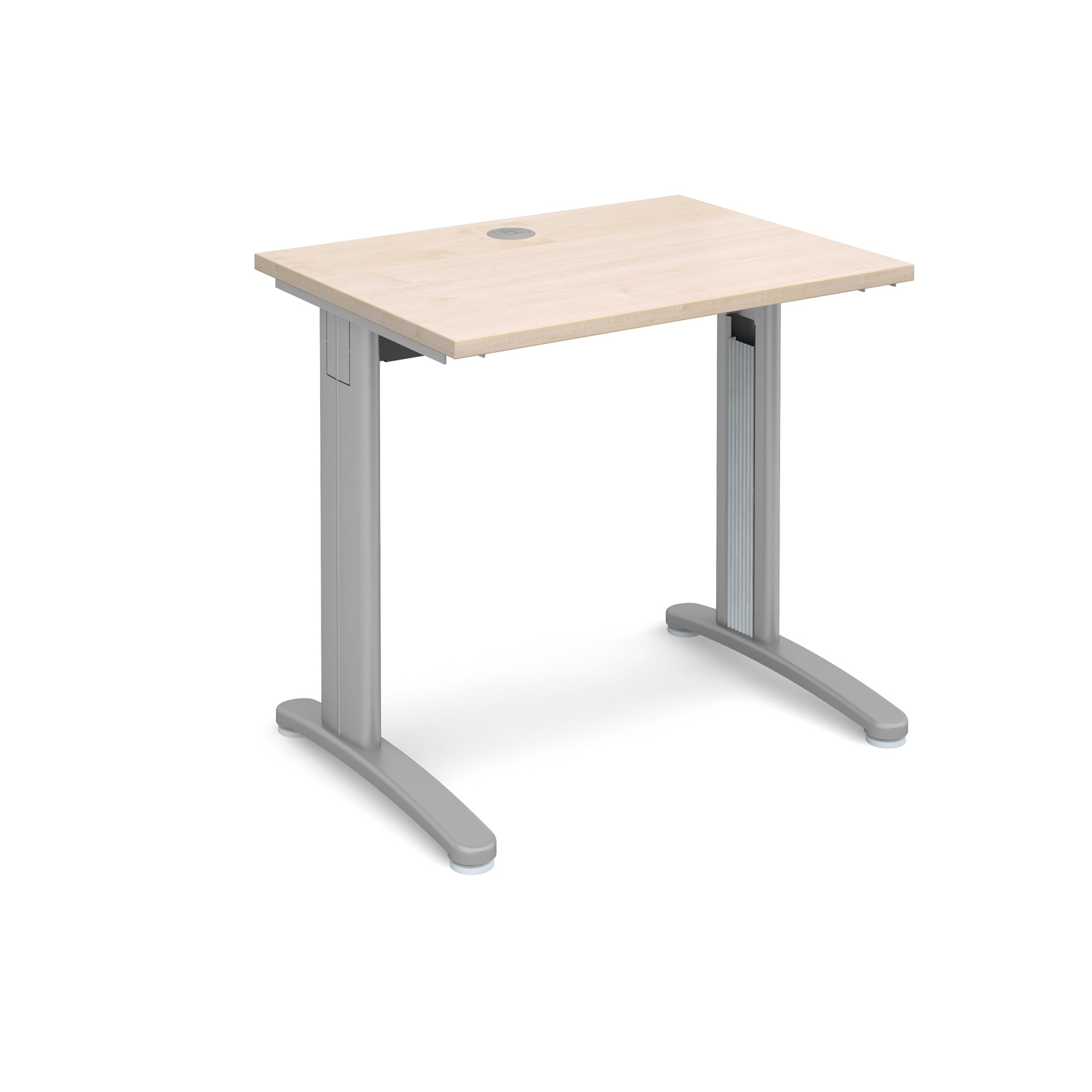 Dams TR10 Maple Desk | Straight 600 Deep