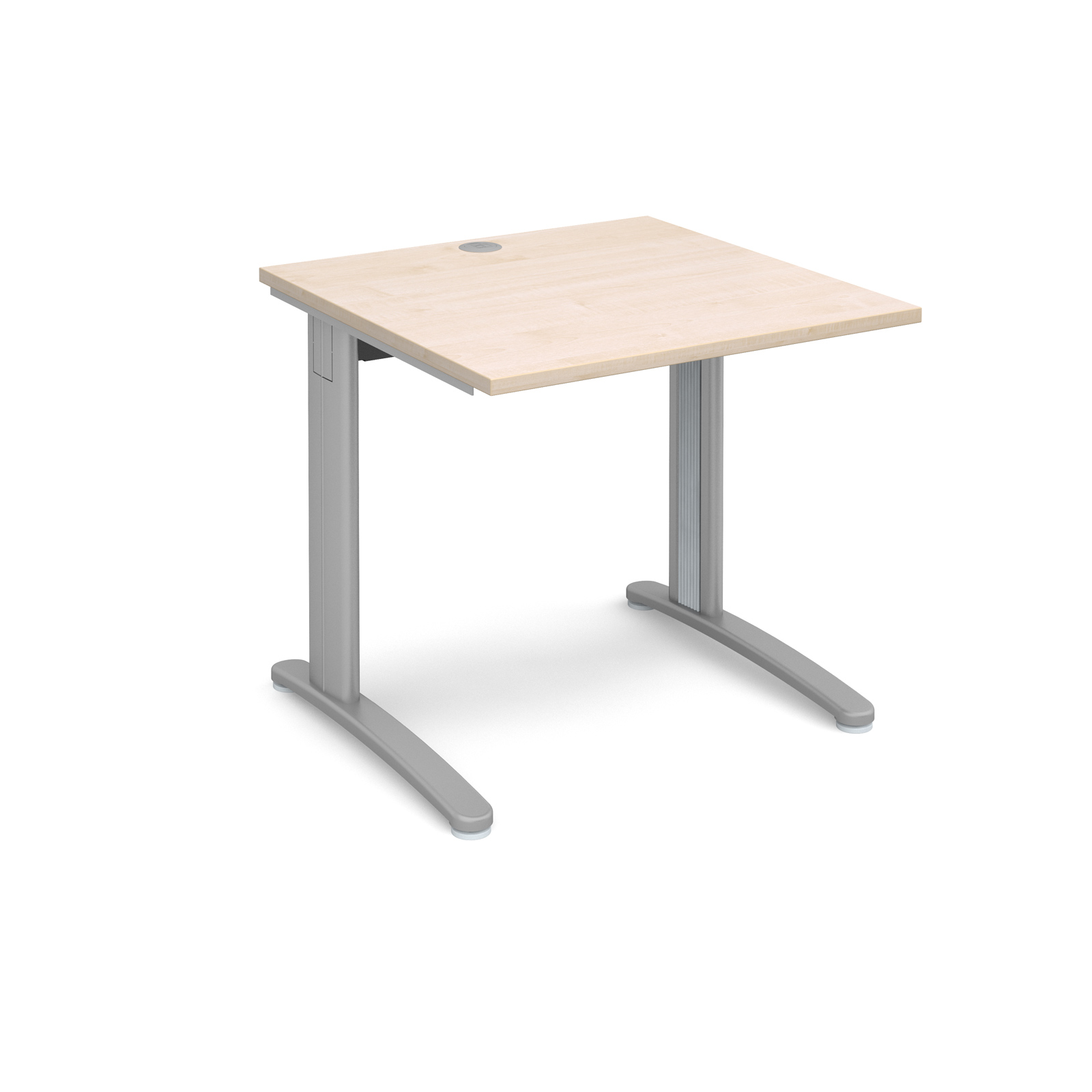 Dams TR10 Maple Desk | Straight 800 Deep