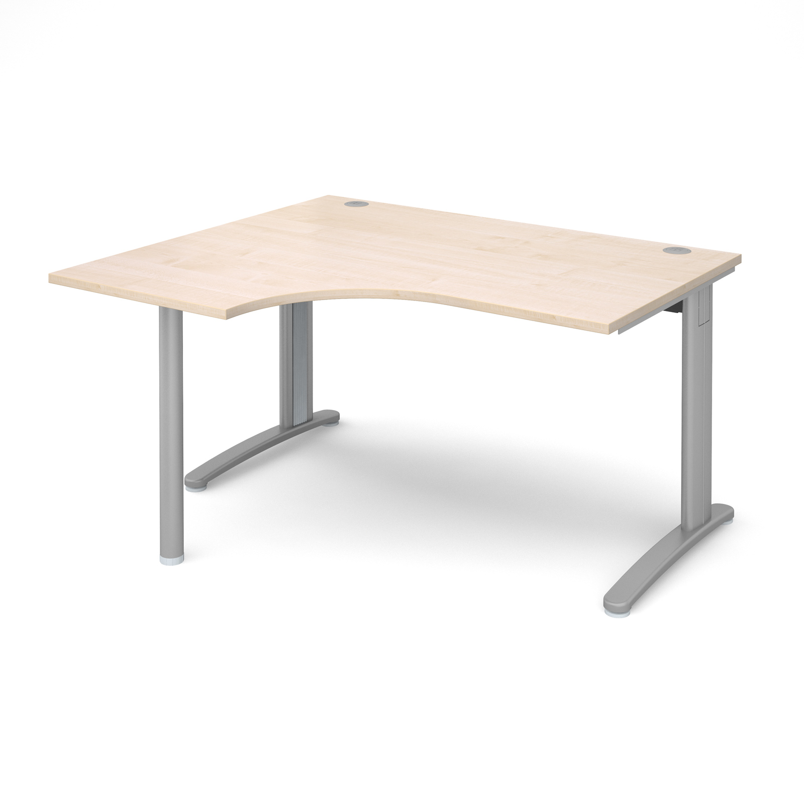 Dams TR10 Maple Desk | Corner