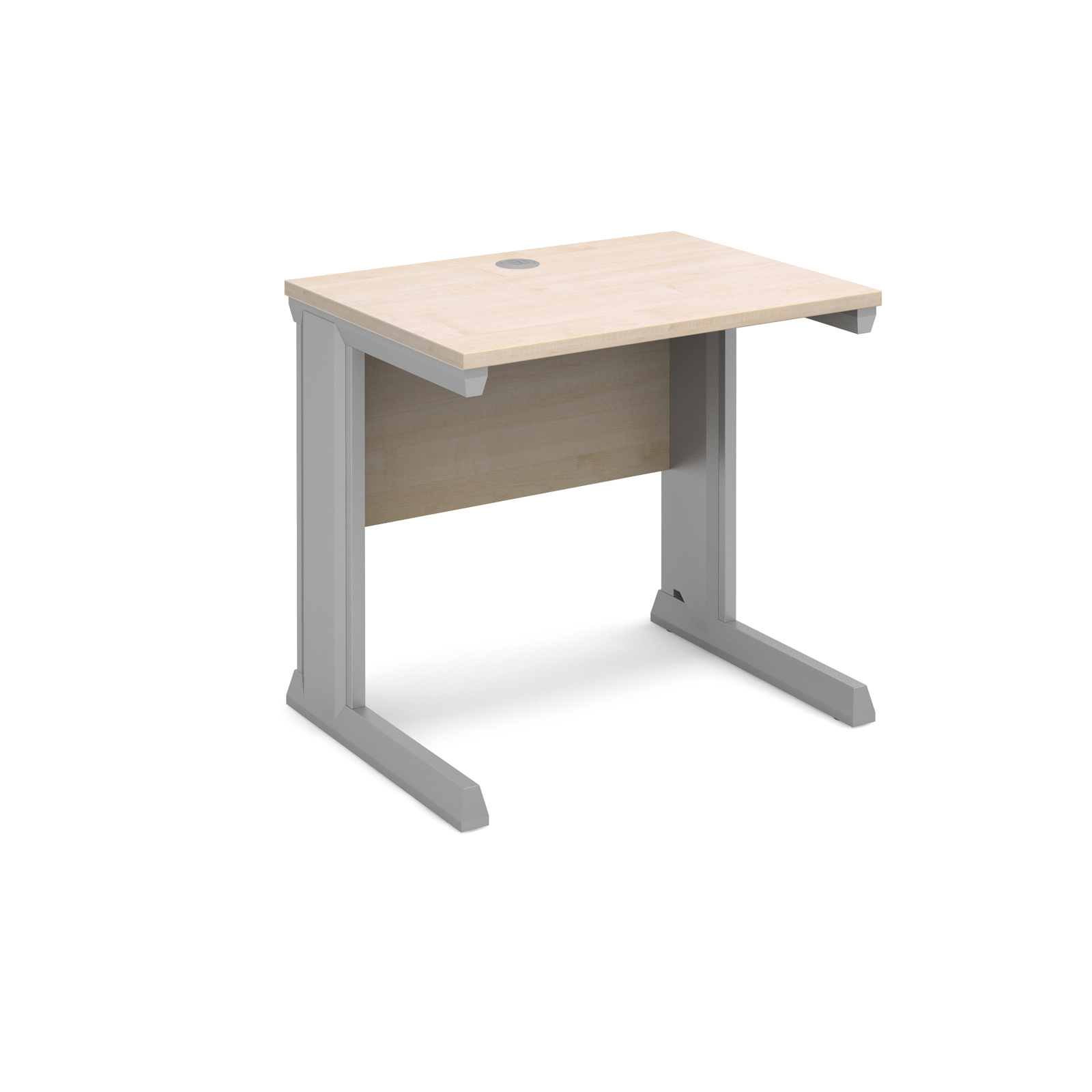 Dams Vivo II Maple Desk | Straight 600 Deep