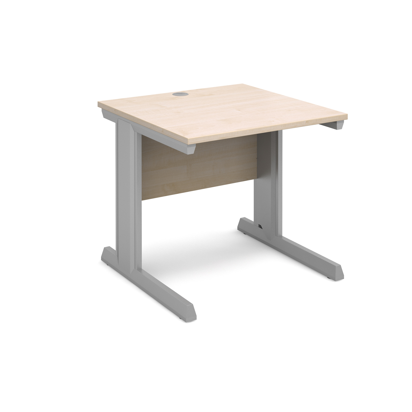 Dams Vivo II Maple Desk | Straight 800 Deep