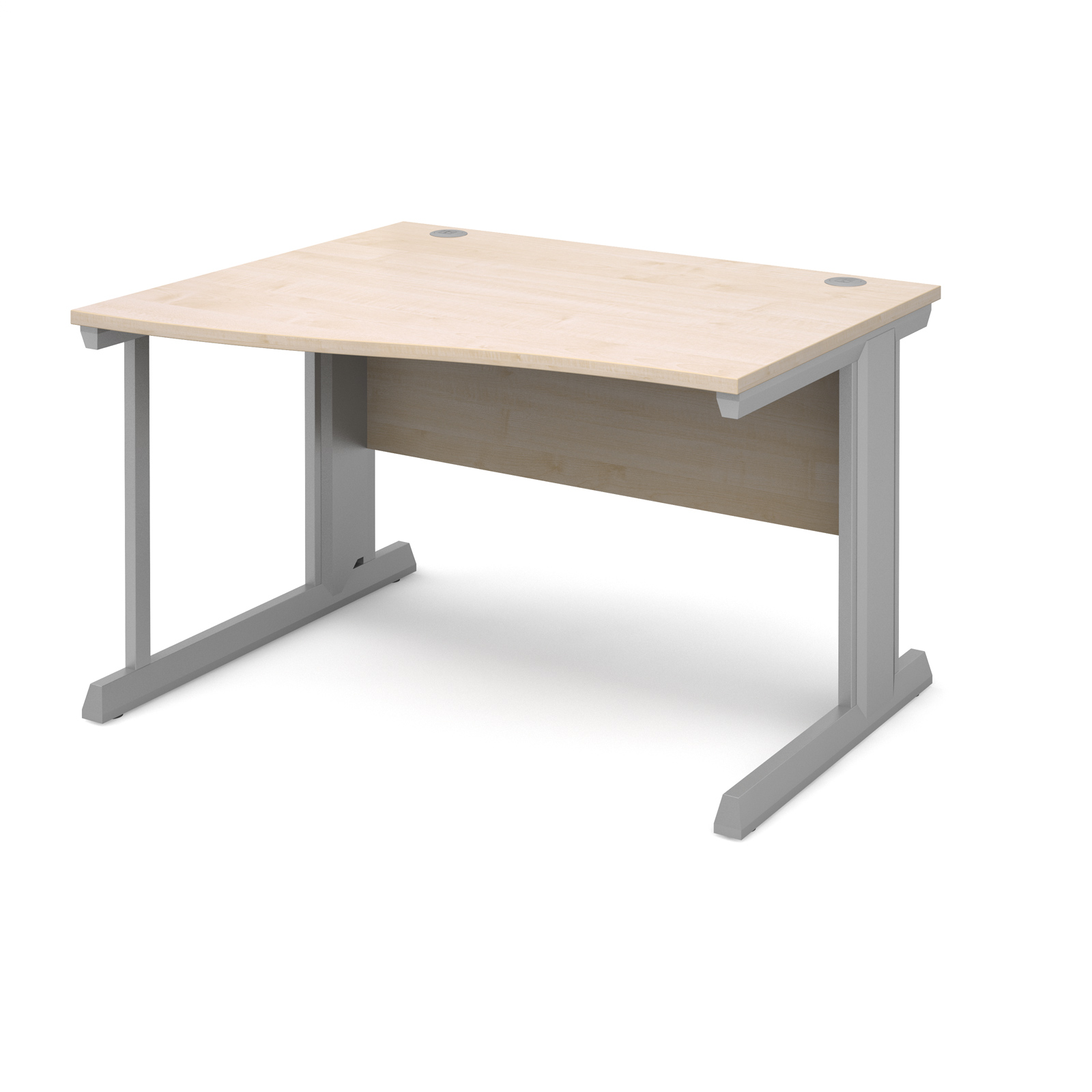 Dams Vivo II Maple Desk | Wave