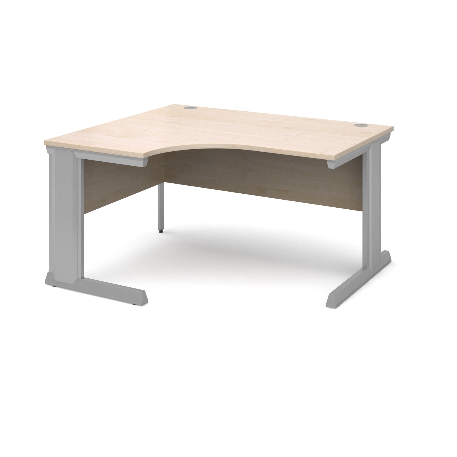 Dams Vivo II Maple Desk | Corner