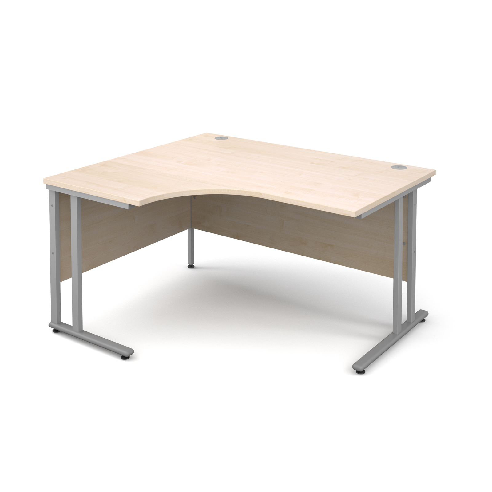 Dams Maestro 25 SL Maple Desk | Corner