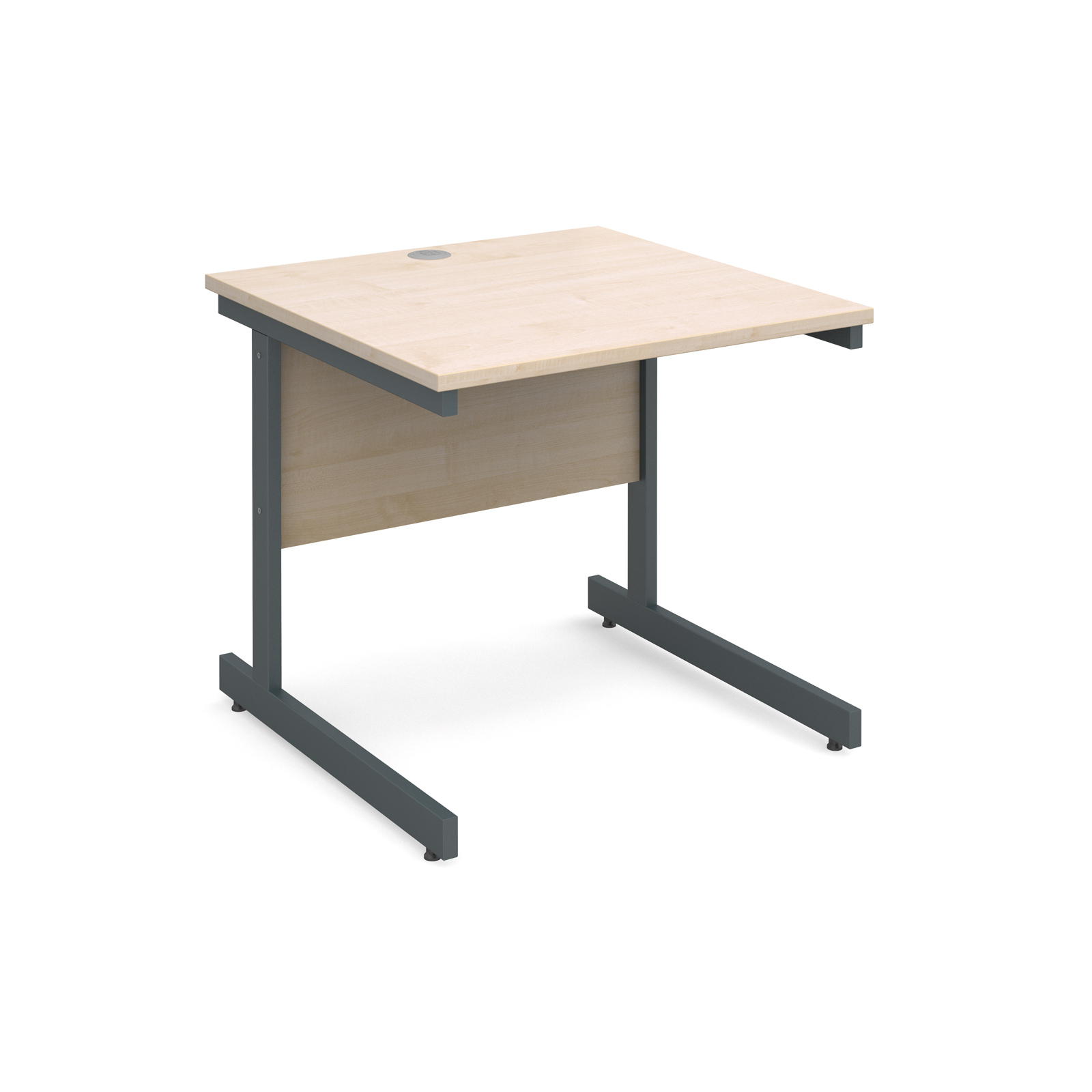 Dams Contract I Maple Desk | Straight