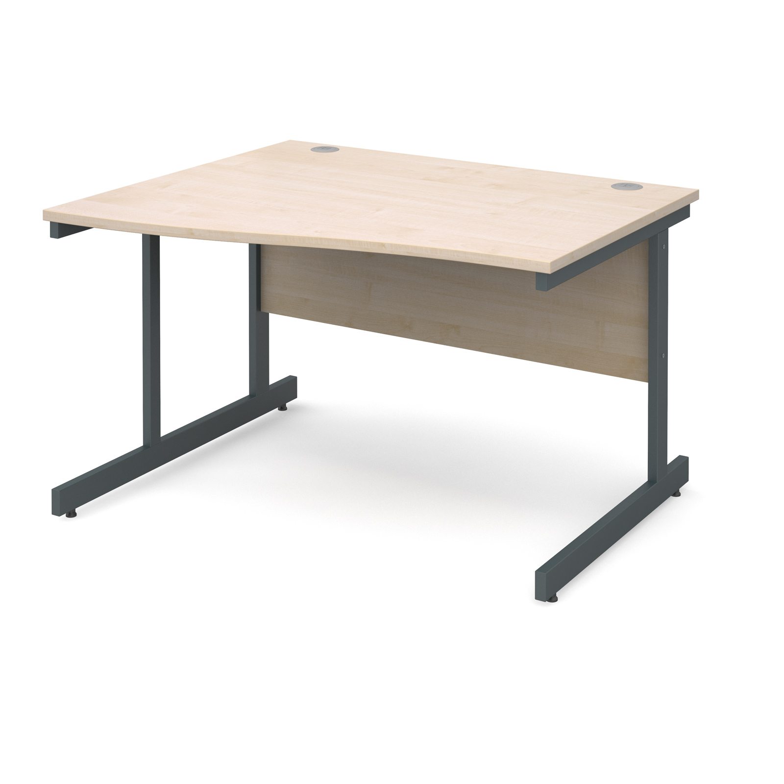 Dams Contract I Maple Desk | Wave
