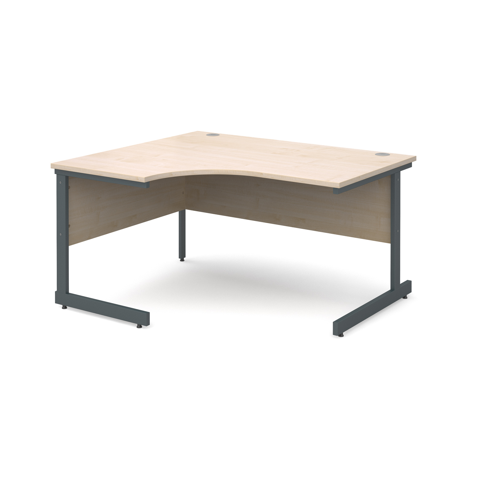 Dams Contract I Maple Desk | Corner