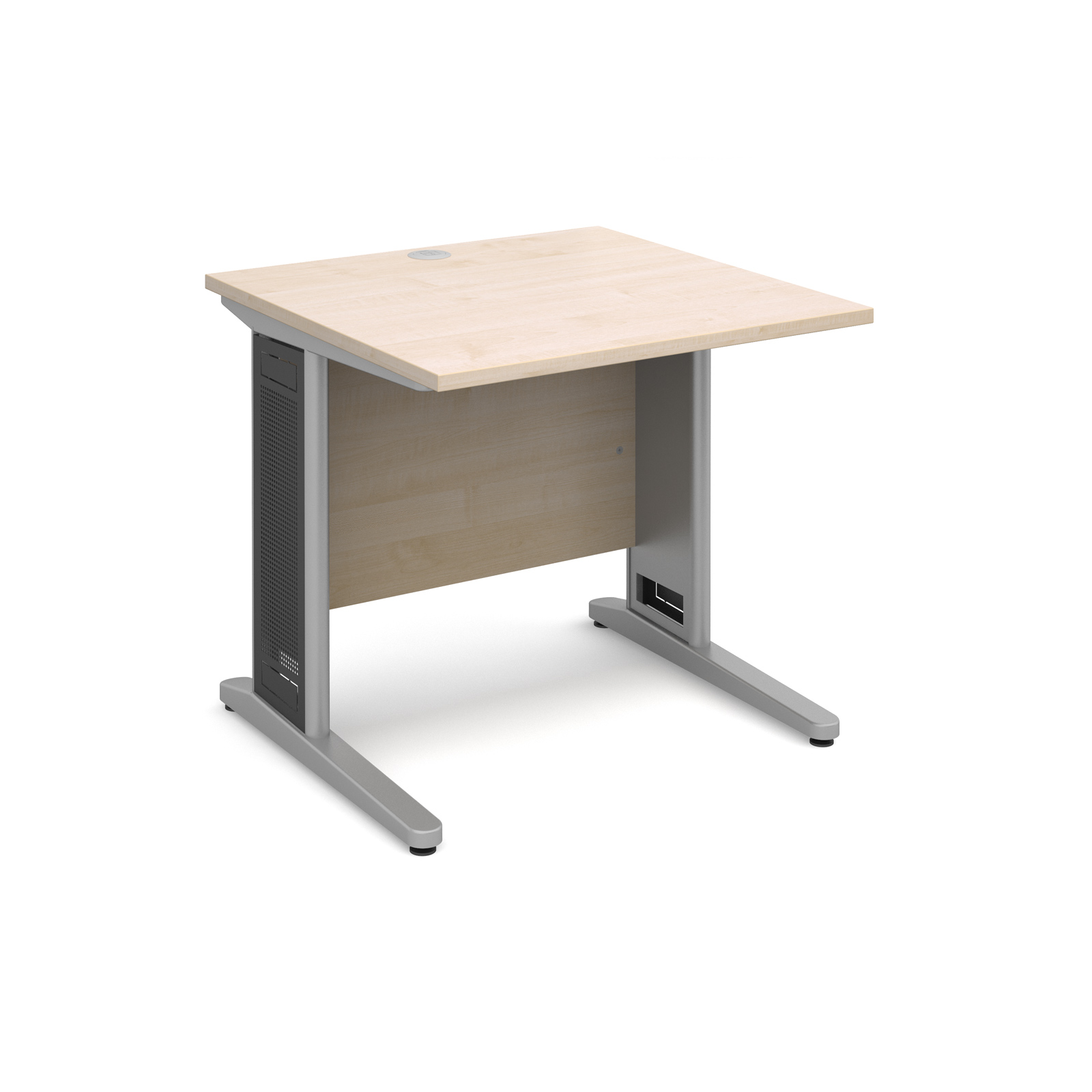 Dams Contract III Maple Desk | Straight (Largo)