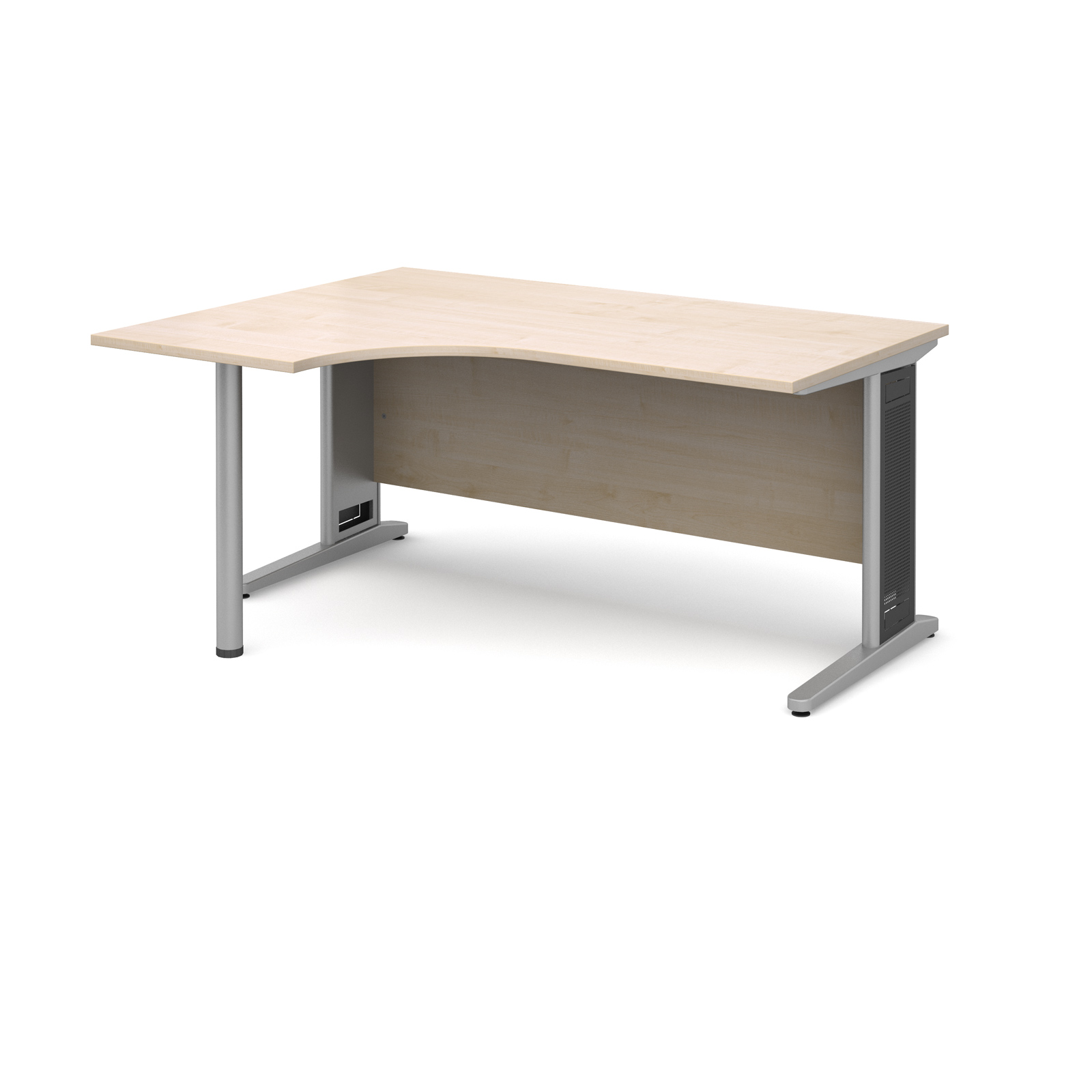 Dams Contract III Maple Desk | Corner (Largo)