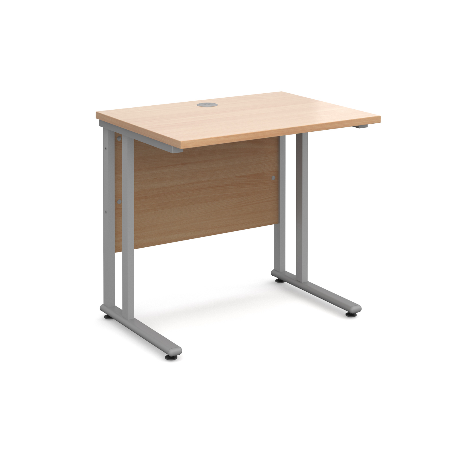 Dams Maestro 25 Straight Office Desk 600 Deep