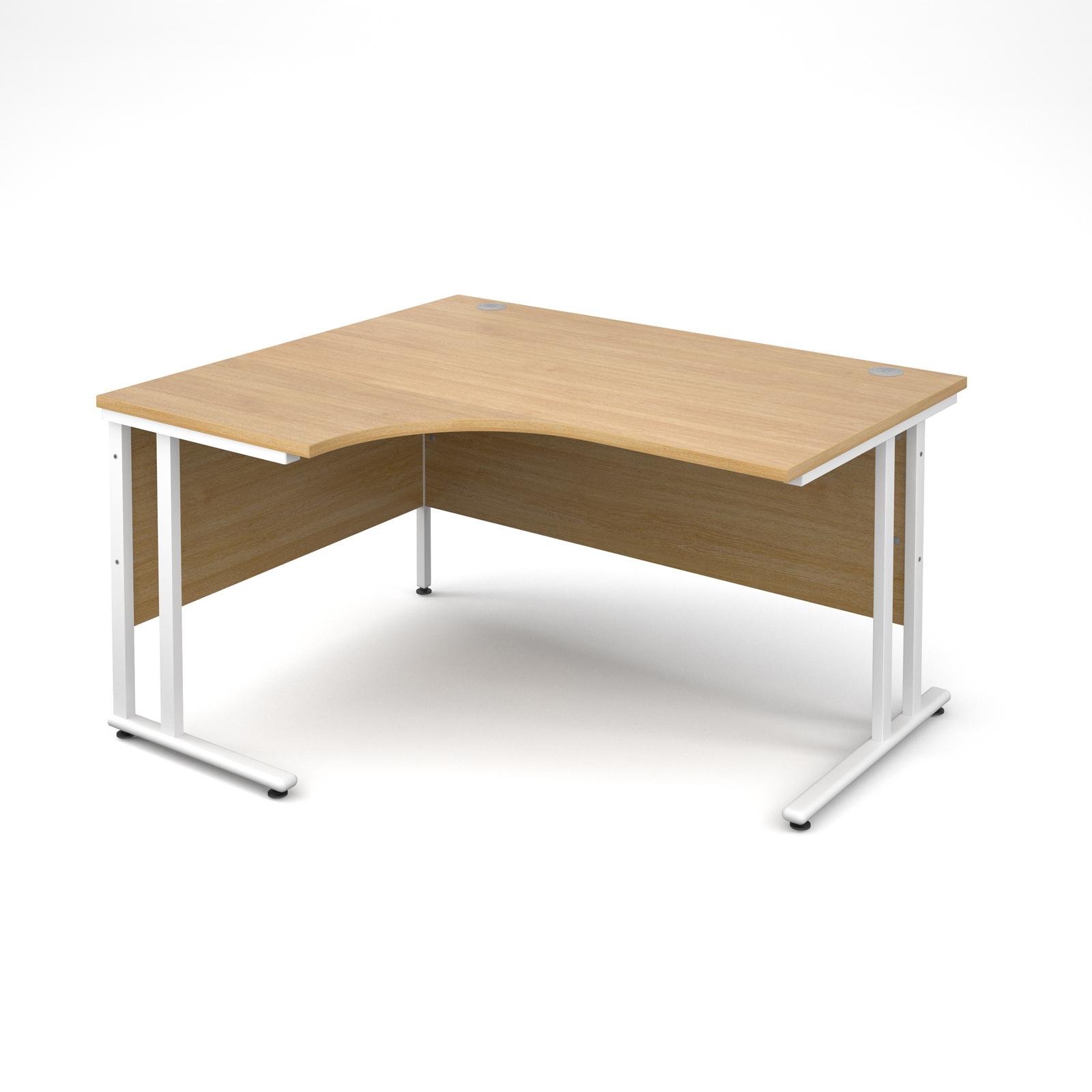 Dams Maestro 25 WL Oak Desk | Corner