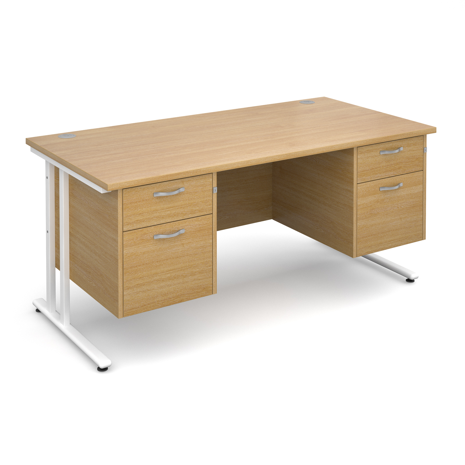 Dams Maestro 25 WL Straight Desk Double Pedestal