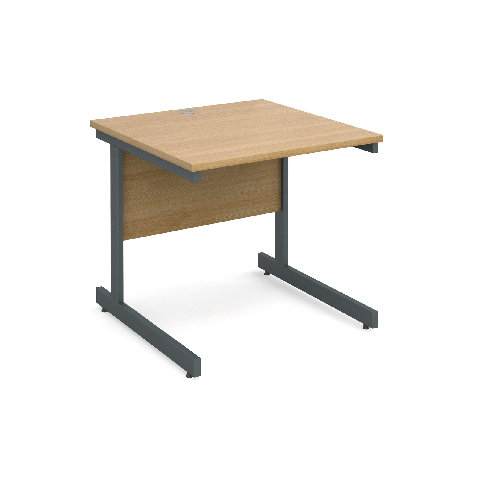 Dams Contract I Oak Desk | Straight