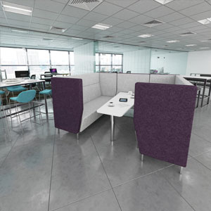 Fabric Meeting Booths