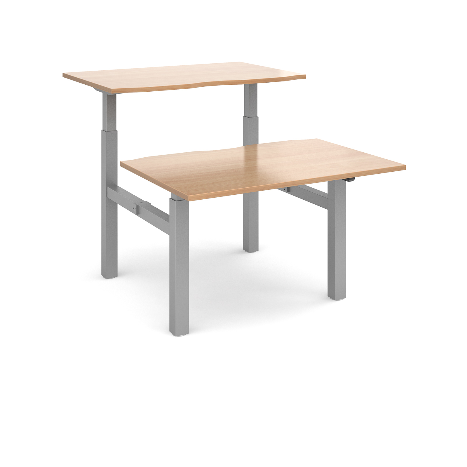 Elev8 Mono Desks | Back-to-Back