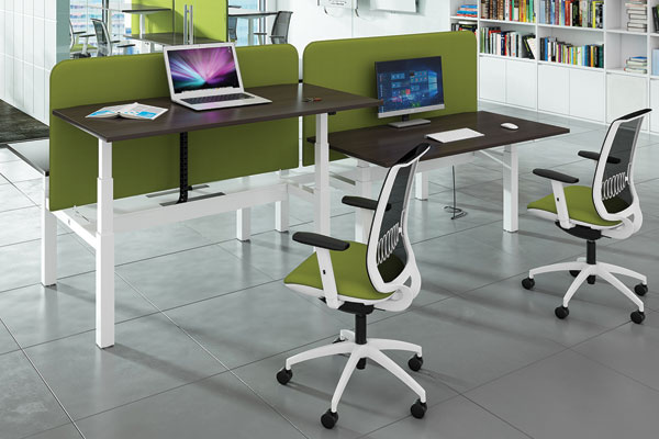Elev8 Bench Desks Electric Sit Stand