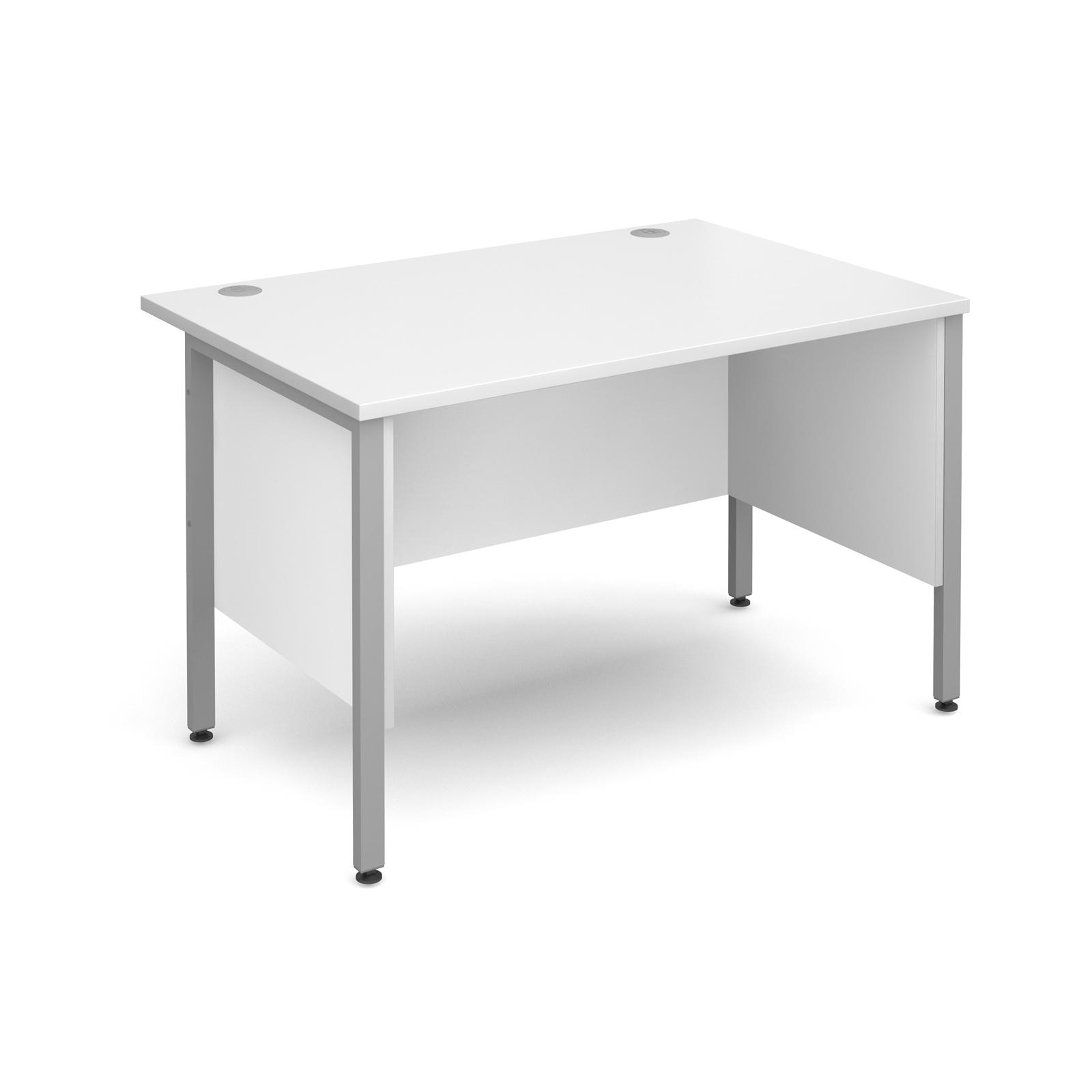 Active M25 SHL Straight Desk | Side Modesty