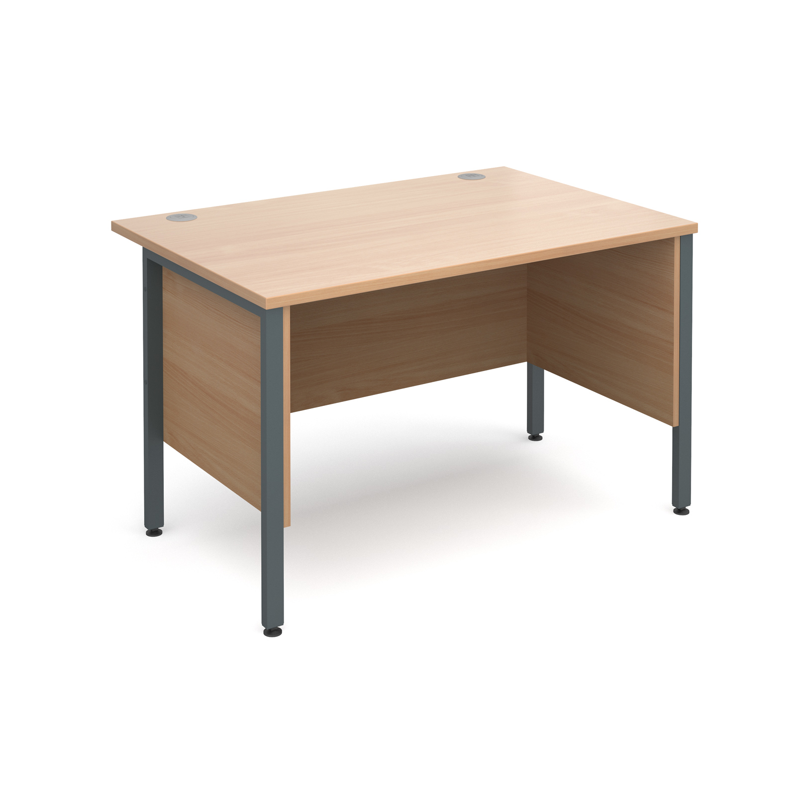 Active M25 GHL Straight Desk | Side Modesty