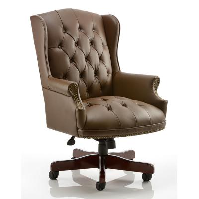 Commodore Leather Office Chair