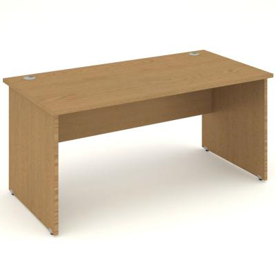 Value Office Desk | Straight Panel End