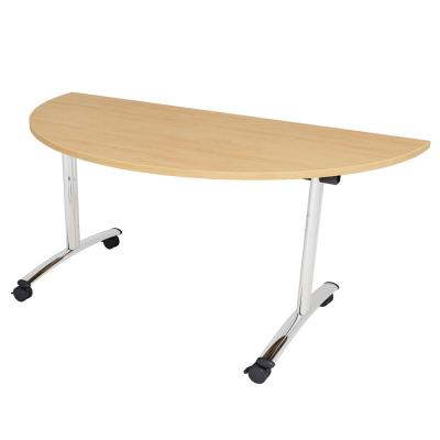 LP Tilt Top Table - Semi Circle