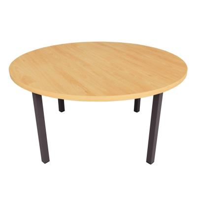 Round Coffee Table - Square Legs