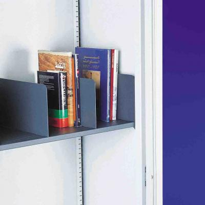 Silverline Slotted Shelf Divider Pack of 5
