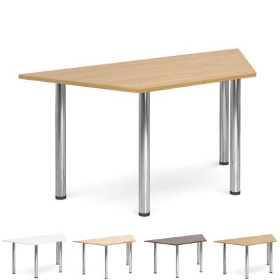 Dams Flexi Chrome Leg Table - Trapezoidal