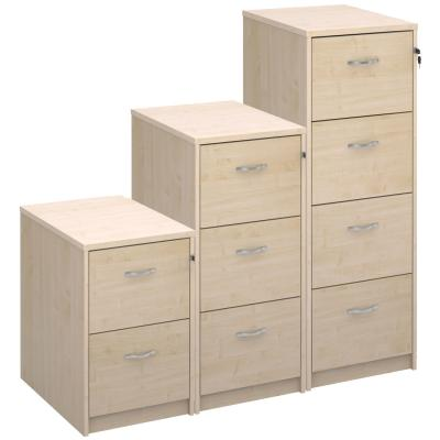 Dams Deluxe Executive Maple Filing Cabinet