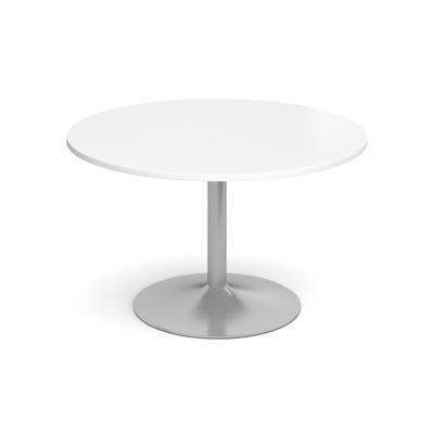 Dams Circular Table - Trumpet Base