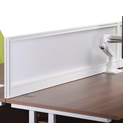 Active Desk Divider - ADV Straight Glazed