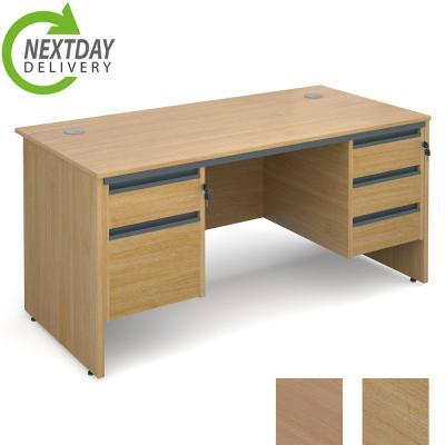 Dams Maestro 18 Panel Straight Office Desk Double